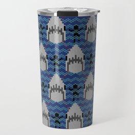 Amity Fair Isle, Jaws Wool Sweater Travel Mug