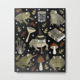 toad spells Metal Print