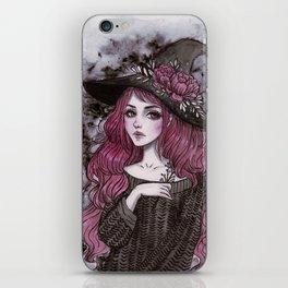 Day2 Inktober- Witch iPhone Skin