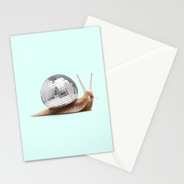 DISCO SNAIL Stationery Cards