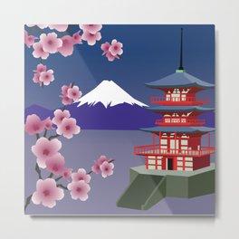 Mount Fuji 1 Metal Print