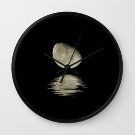 Lunar Neighbor Wall Clock