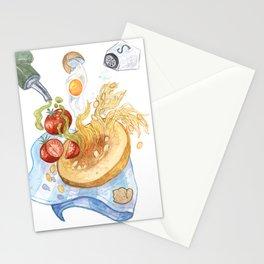spaghetti squash ballet Stationery Cards