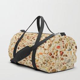 Vintage Mushroom Designs Collection Duffle Bag