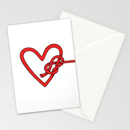 knot in love Stationery Cards
