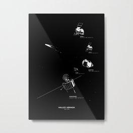 HALLEY ARMADA Metal Print