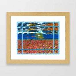 Light in My Art Framed Art Print