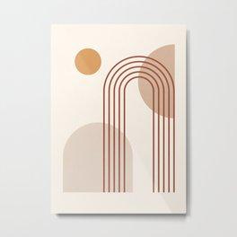 geometric abstract 65 Metal Print