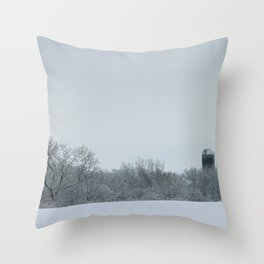 Cold January Morning Throw Pillow
