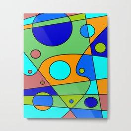 Abstract #72 Metal Print