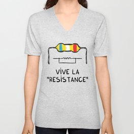 Vive la Resistance Unisex V-Neck
