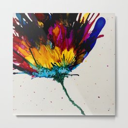 AB Flower Metal Print