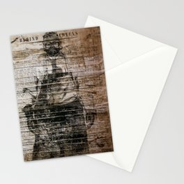 The Man with the Mask Stationery Cards