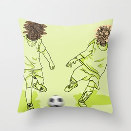 Var I Nation - Soccer Throw Pillow