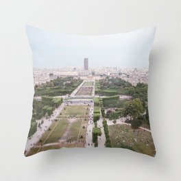 As above Throw Pillow