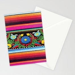 Pink Serape  Stationery Cards