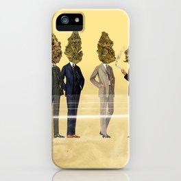 Gentlemen's Smoking Club iPhone Case