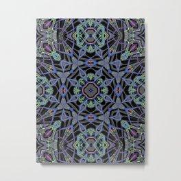 Alien Symmetry Metal Print