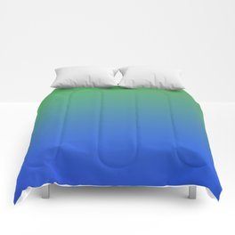 RESTING STATE - Minimal Plain Soft Mood Color Blend Prints Comforters
