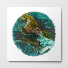 Fluff Metal Print