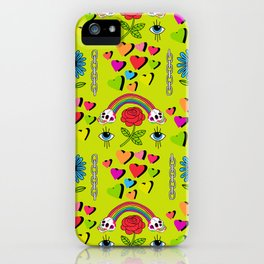 Karmic Green iPhone Case