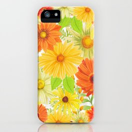 Daisy Collage iPhone Case