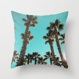 16 Palm Trees Art Print {1 of 2} Throw Pillow