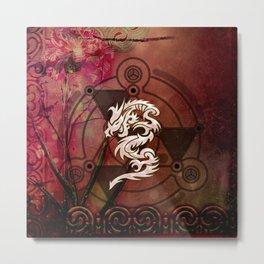 Wonderful chinese dragon Metal Print