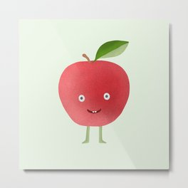 Manzana - Apple Metal Print