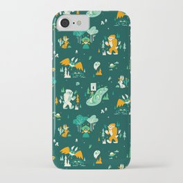 Cryptid Cuties (Bigfoot, Yeti, Jackalope, Mothman, Ghost, Loch Ness Monster) iPhone Case