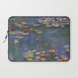 "Claude Monet ""Water lilies"" (12) Laptop Sleeve"