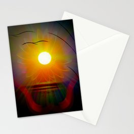 Abstract in perfection - Fertile Imagination sunrise Stationery Cards