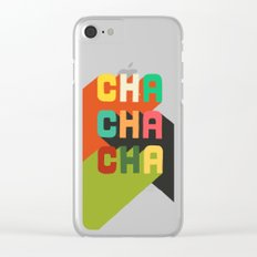 Cha cha cha Clear iPhone Case