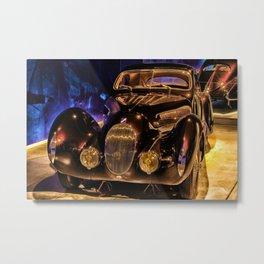 Vintage 1937 Talbot Lago T150-C SS Coupé aérodynamique 'Goutte d'Eau' Metal Print