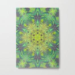 magic mandala 48 #mandala #magic #decor Metal Print