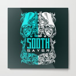 THE SOOTHSAYER Metal Print