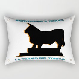 Teruel, la ciudad del Torico Rectangular Pillow