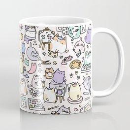 Artsy Cats Kaffeebecher