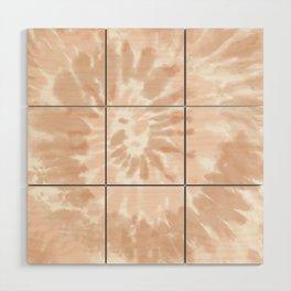 Neutral Tie-Dye 02 Wood Wall Art
