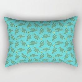 Dancing Saguaros Rectangular Pillow