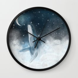 surfing the stars Wall Clock