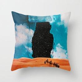 False Sky Throw Pillow