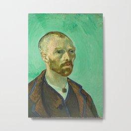 Self Portrait (dedicated to Paul Gauguin) Metal Print