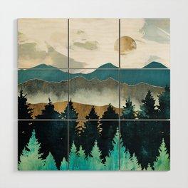Forest Mist Wood Wall Art