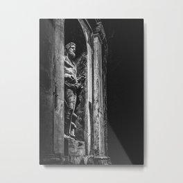 Statua Di Asclepio Metal Print