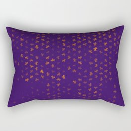 capricorn zodiac sign pattern po Rectangular Pillow