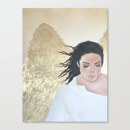 On The Wings Of Tenderness Canvas Print