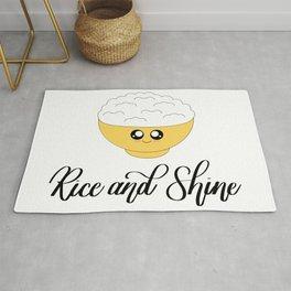 Rice and Shine Rug