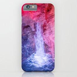 Funny falls iPhone Case