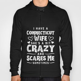 Anniversary Gifts for men With Wife fromConnecticut Hoody